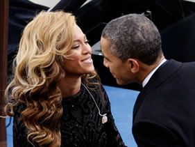 Beyonce and Barack are not an item!