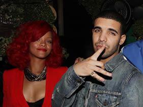 Rihanna and Drake's date night