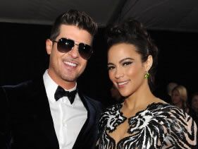 Robin Thicke and wife split