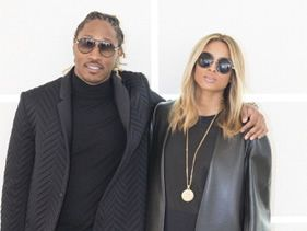 Cici & Future go ombre, they have matching hair.