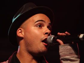 Jimmy Nevis in studio