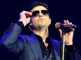 Robin Thicke cheating?