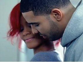 Rihanna and Drake's PDA