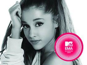 Ed Sheeran and Ariana Grande for EMA