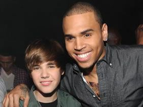Bieber and Breezy reunite