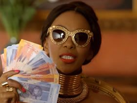 "Davido & Mafikizolo on their video titled ""TCHELETE"""