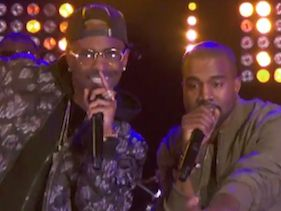 Kanye, Rick Ross and Big Sean perform