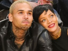 Rihanna and Breezy in touch