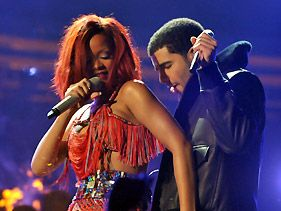Drizzy and Riri reunited!