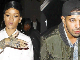 Rihanna and Drake make it official?
