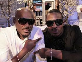 D'banj and 2face collaborate