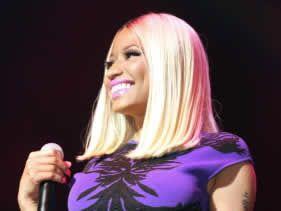 Nicki Minaj's exotic beauty