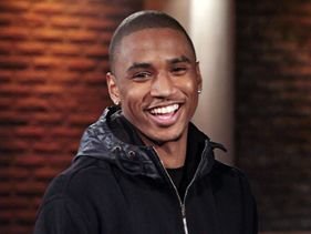 Trey Songz on target for first number one album!